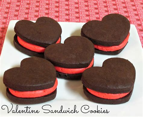 valentines cookie recipes sandwich cookies to be in the kitchen