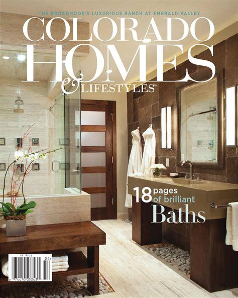 usa bathroom trends vol 21 no 5 magazine colorado homes lifestyles april 2014 by network