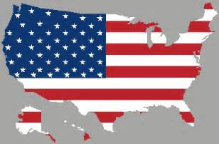 united states map with flag maps united states map flag