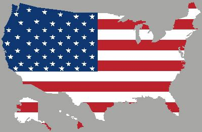 usa map states flags usa map flag gif by kenji2009 photobucket