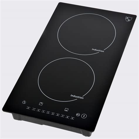 Induction Cooktop Burner - k h domino 2 burner induction ceramic cooktop 220v indv