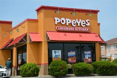 Popeyes Louisiana Kitchen popeyes louisiana kitchen aransas pass restaurant