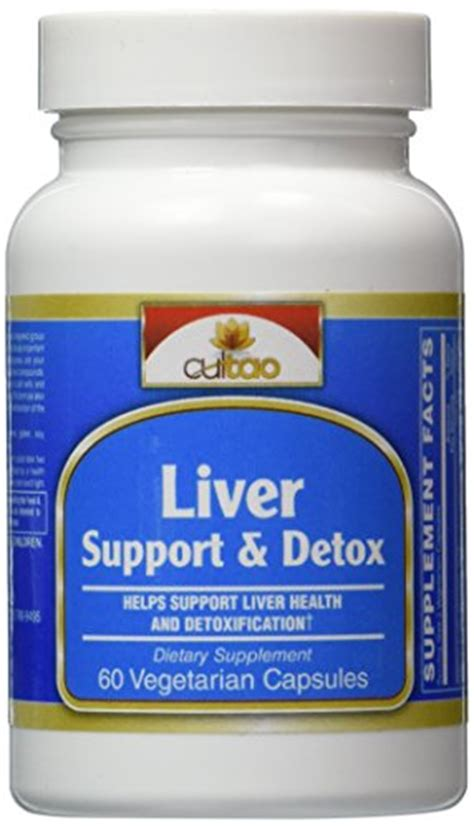 Herb Detox Vitamin C by Premium Liver Support Detox Cleanse Supplements Milk