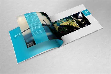 small book layout design a4 landscape book mockups product mockups creative market
