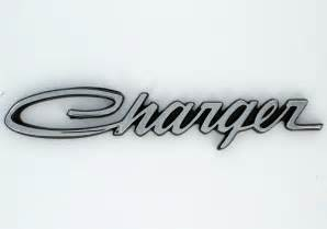 Dodge Charger Logo Mopar Oem Dodge Charger Decorative Quot Charger Quot Emblems
