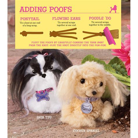 pom pom puppies klutz pom pom puppies make your own adorable dogs craft kit april chorba