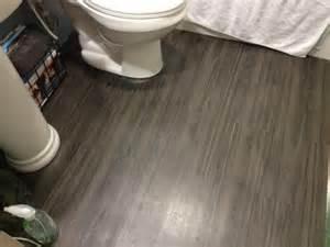 Vinyl Plank Flooring In Bathroom Trafficmaster 6 In X 36 In Iron Wood Resilient Vinyl Plank Flooring 24 Sq Ft