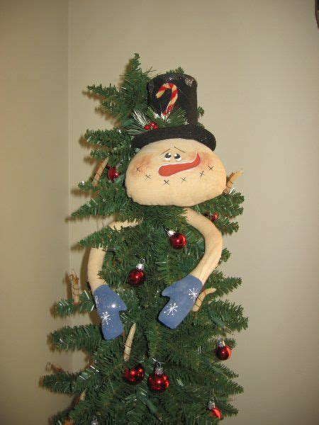 how to make a snowman tree hugger snowman tree primitive folk and patterns on