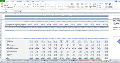 Restaurant Expenses Spreadsheet by Restaurant Budget Template Images Templates Design Ideas