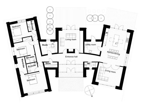 W M Mba by Modern Style House Plan 3 Beds 3 00 Baths 2328 Sq Ft
