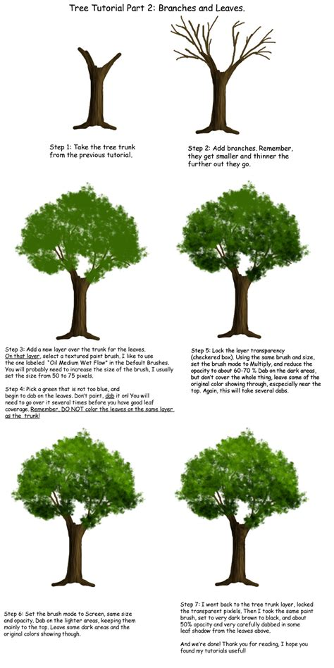 paint tool sai tree tutorial tree tutorial part 2 by tephra76 on deviantart