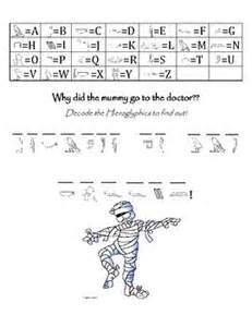 Hieroglyphics Worksheet by Hieroglyphic Math Activity Pages Search Results