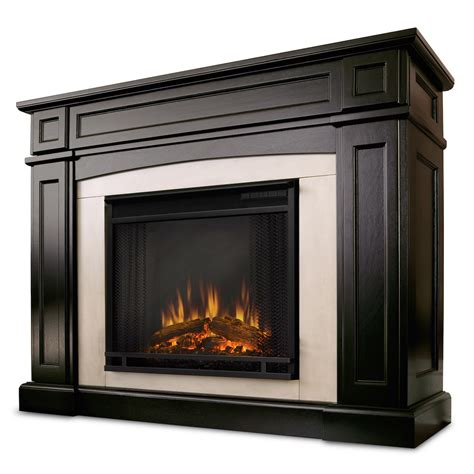 Walnut Electric Fireplace by Real Rutherford Electric Fireplace In Walnut