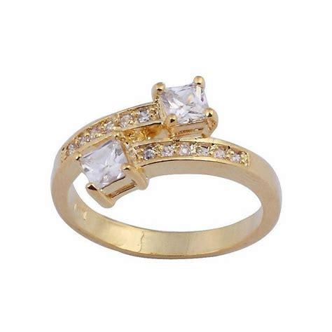 Ring Cincin Wanita cincin wanita ring 6 model white sapphire gold filled