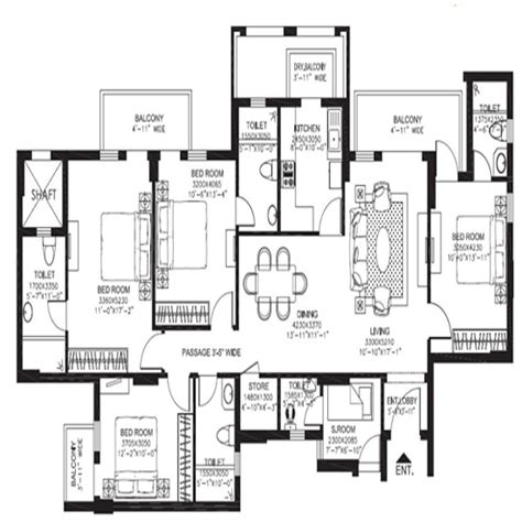 dlf new town heights floor plan buy dlf new town heights new town heights apartment