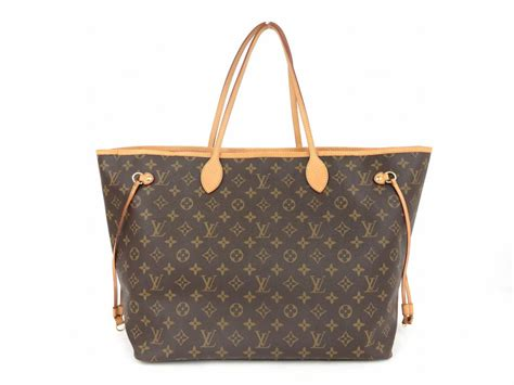 authentic louis vuitton neverfull gm handbag tote bag