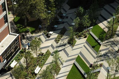 Archdaily Landscape Levinson Plaza Mission Park Mikyoung Design Archdaily
