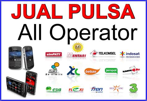 Pulsa Multi All Operator jual pulsa all operator voucher ppob pln