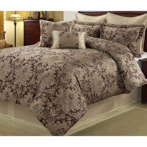 king size purple comforter set bedroom 8 piece bedding
