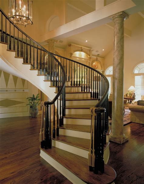 curved staircase house plans luxury curved staircase plan 020s 0004 house plans and more southern house plans
