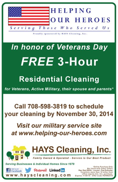 take advantage of veterans day offers the american legion honor our veterans helping our heroes