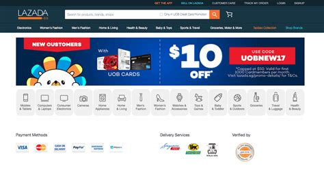 uob singapore new year promotion lazada singapore 10 with uob credit cards