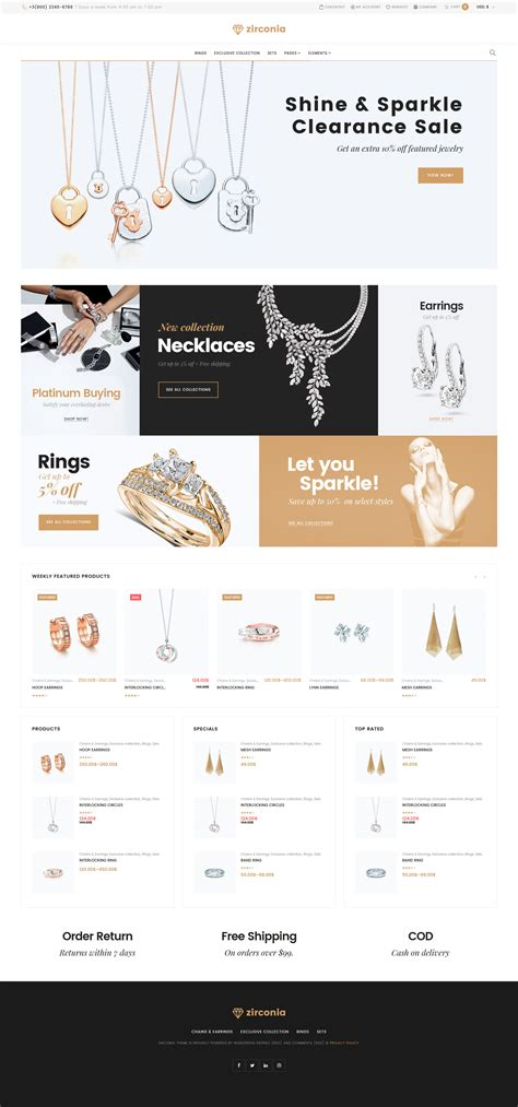 Woocommerce Template Tutorial by Jewelry Templates Archives Zemez