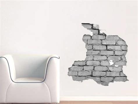 Wand Sticker Ziegel by Wandtattoo Wandtattoo Effekt Wand Ziegel Gedruckt