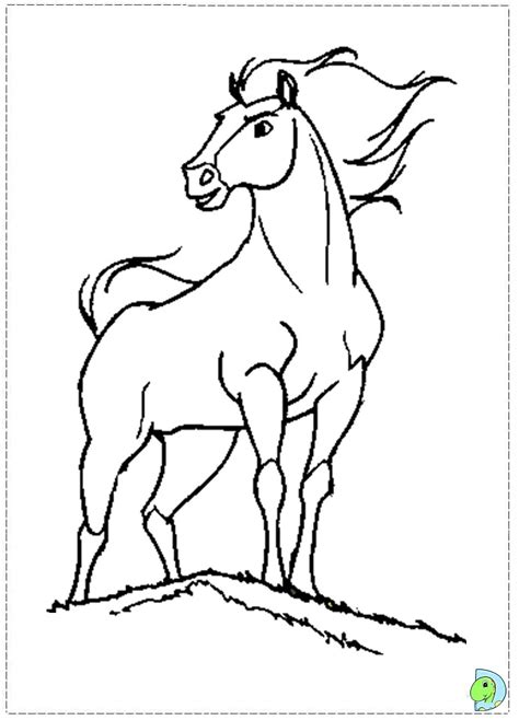 coloring pages of spirit the free coloring pages of draw spirit