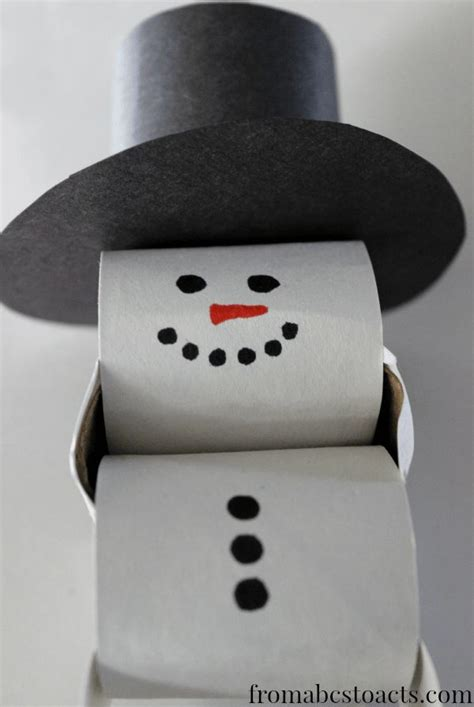 How To Make A Snowman Paper Chain - paper chain snowman countdown search paper