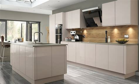 multi wood kitchen cabinets welford savanna handleless multiwood