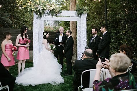 stabiler pavillon 3x3 backyard wedding los angeles joey s backyard wedding
