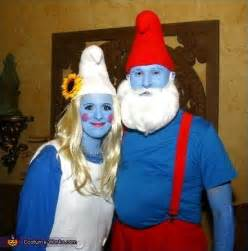 Papa smurf amp smurfette couples costume