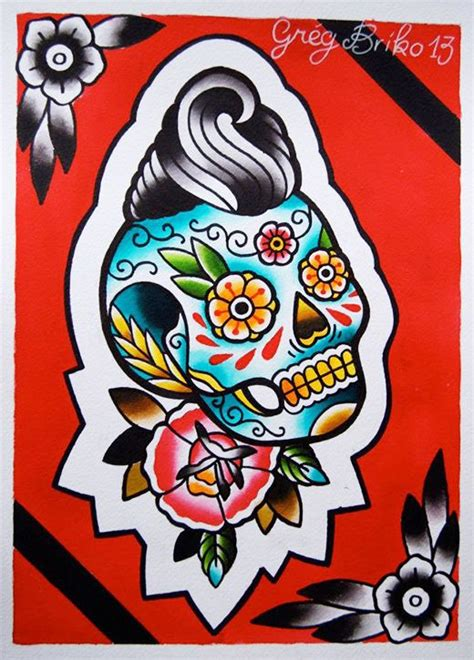 Tattoo Flash Lessons | 39 best rockabilly images on pinterest tattoo ideas