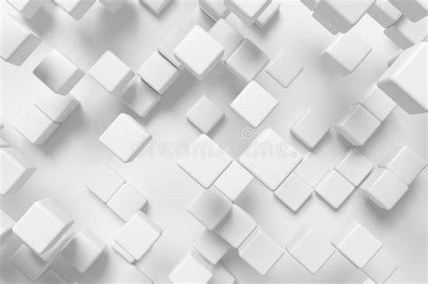 hollow square pattern in c 抽象白色立方体 3d背景 库存例证 插画 包括有 回报 设计 现代 墙纸 形状 要素 建筑