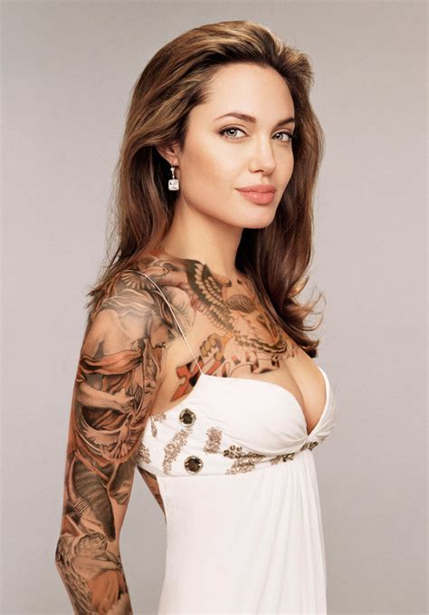 angelina jolie gets new tattoo angelina jolie new tattoos designs images 2013 hollywood