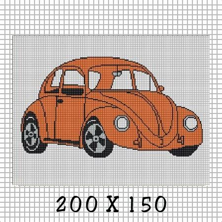 crochet pattern vw beetle cozyconcepts vw bug volkswagon crochet afghan pattern graph