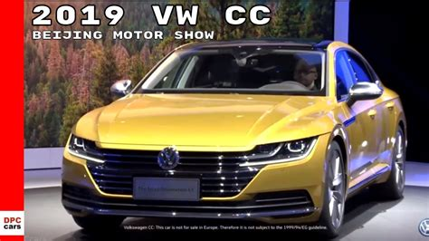 2019 The Next Generation Vw Cc by 2019 Vw Cc At Beijing Motor Show Auto China 2018
