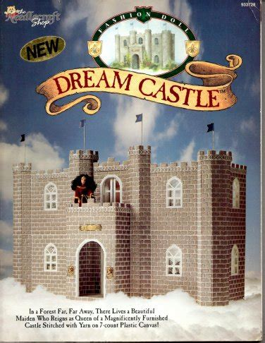 plastic canvas castle pattern book the needlecraft