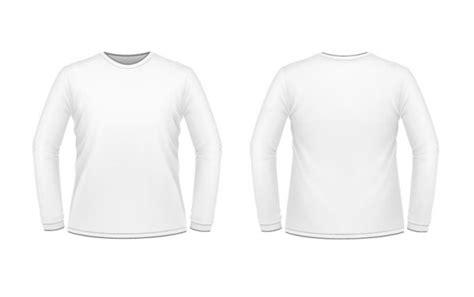 Baju Lengan Panjang Vektor 长袖打底衫设计矢量图 服装设计矢量图 三联