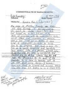 Kyle Kennedy Letter