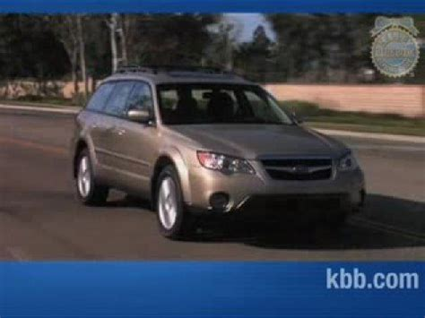 blue subaru outback 2007 2007 subaru outback review kelley blue book youtube