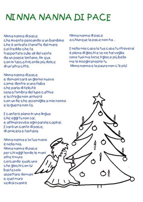 testi natalizi ninna nanna pace