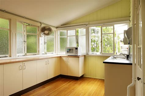 small kitchens  feel open airy