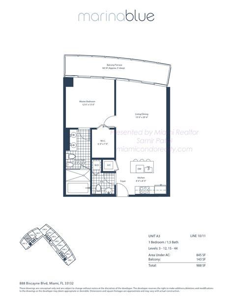 icon south beach floor plans ocean blue condo miami beach floor plans