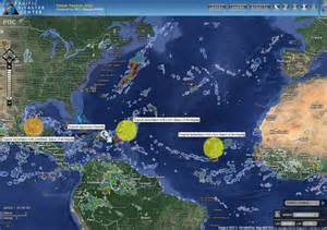 Islands and tropical disturbances in the gom and the atlantic ocean