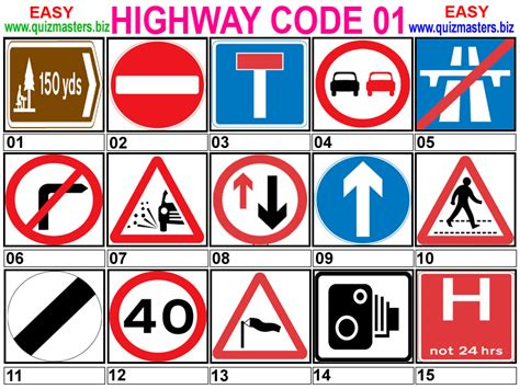 printable road code test image gallery highway code