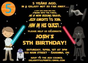 free star wars birthday promo invitation template drevio