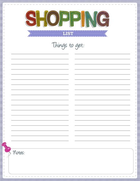 printable shopping list with pictures search results for grocery list template blank