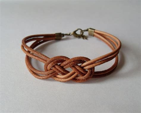 knots for jewelry best 25 leather bracelets ideas on braided
